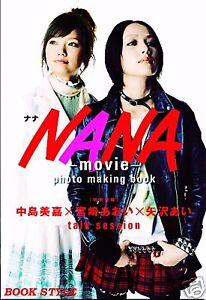 Details About Nana Ai Yazawa Movie Photo Making Book