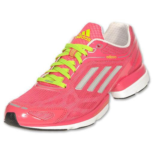 NEW~Adidas ADIZERO RUSH Running Shoe gym marathon Trainer response~Women SZ 10.5