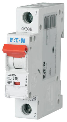 1polig  10A Moeller PXL-B10//1 Leitungsschutzschalter B-Charakteristik