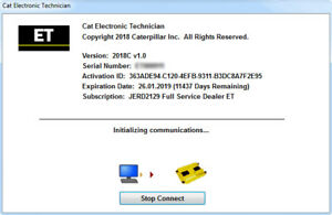 Details about Caterpillar Electronic Technician (CAT ET 2018C) dealer  diagnostic software