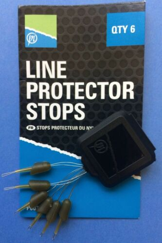 LINE PROTECTOR STOPS 6 PER PACK PRESTON INNOVATIONS FISHING