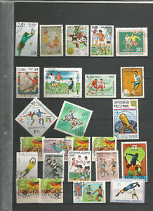 Fussball Sellos Stamps