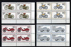 Bund-1168-1171-VB-Eckrand-Viererblock-postfrisch-alle-m-Formnummer-FN-Ecke-4