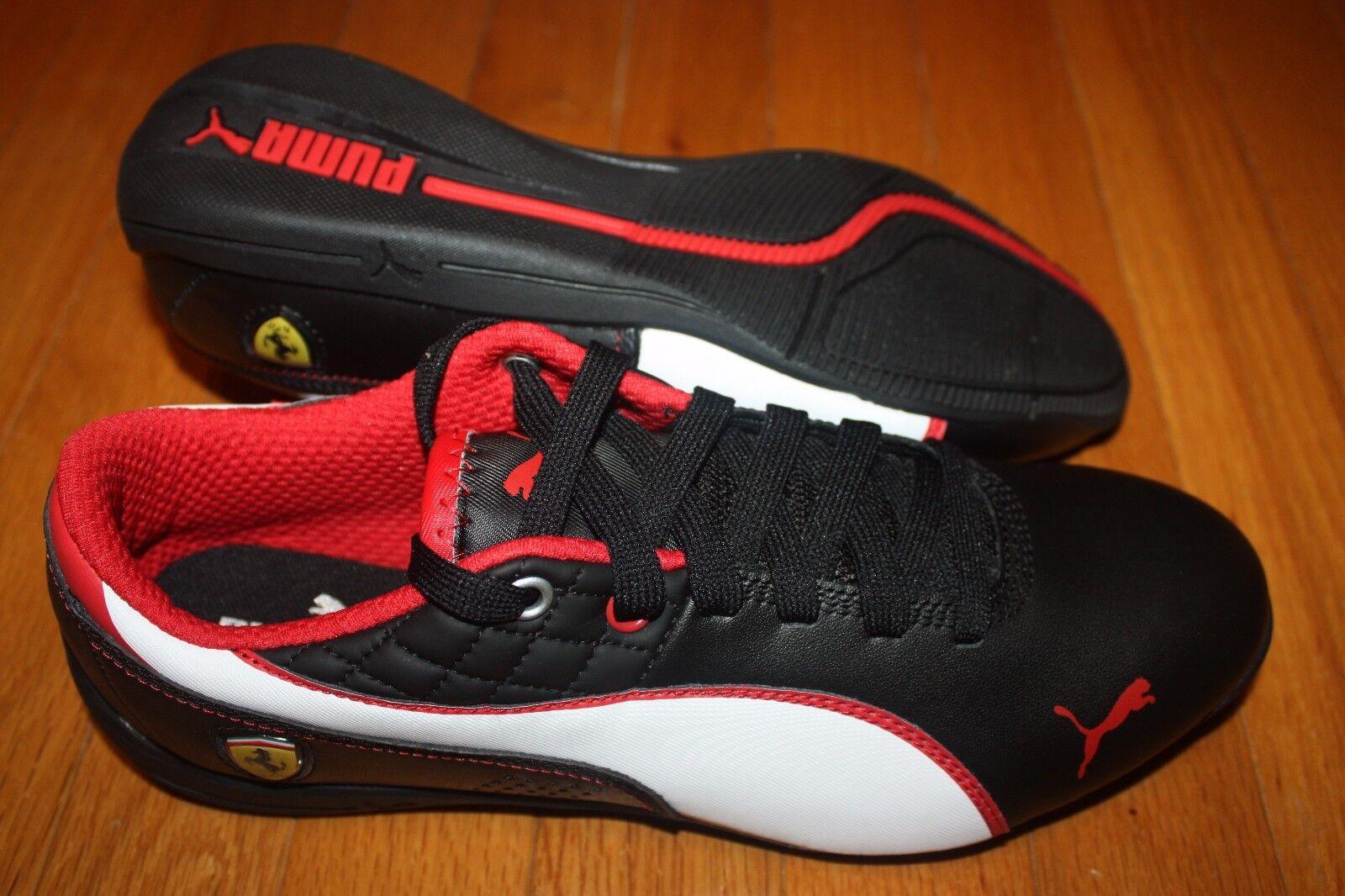 """15a081754 Nuevo En Caja Puma Ferrari Drift CAT 6 6 6 µ para Hombre Zapatos Negro  Blanco. """""""