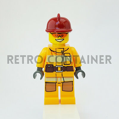 LEGO Minifigures Pompiere Omino Minifig 9780545477024 1x cty0489 Fireman