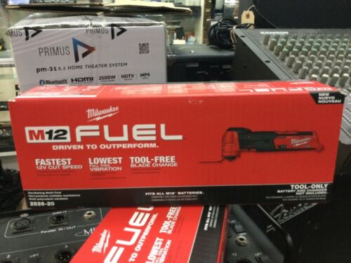 Milwaukee-2526-20 M12 FUEL Oscillating Multi-Tool Tool-Only