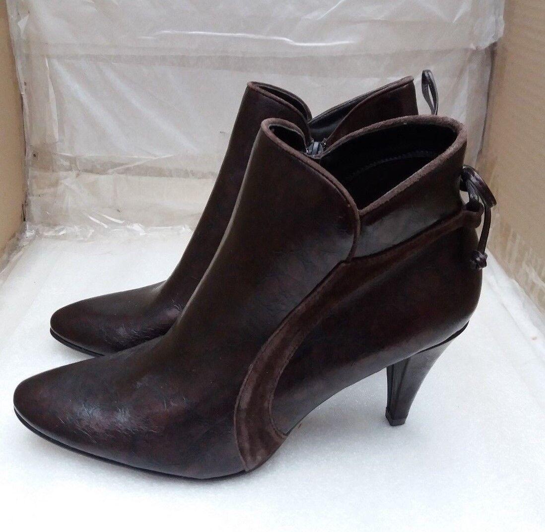 Pierre Cardin Ankle Boots - Patent Bronze -