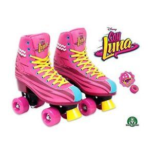 Disney-Soy-Luna-Roller-Skates-Training-Original-TV-Series-Size-38-39-7-25-5-NEW