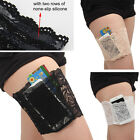 Summer Women Concealed Lace Small Thigh Purse Holster Garter with Pocket Sz S-L