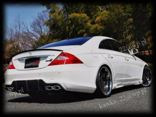 PRIMED /& QUALITY Mercedes CLS W219 AMG Rear Trunk Boot Lip Spoiler