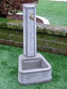 Bonfante fontana fontanella da giardino cemento aquisgrana - Fontane da giardino ebay ...