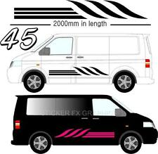 Graphic Decals Self Adhesive Vinyl Stickers Any Vehicle VW Campers Motorhome D45