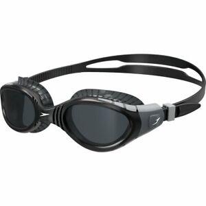 Speedo-Futura-Biofuse-Flexiseal-Swimming-Goggles-Cool-Grey-Black-Smoke