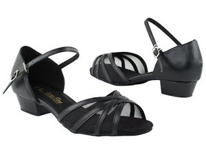 4c9683591 Women's West Coast Swing Salsa Ballroom Dance Shoes low Heel 1 Very ...