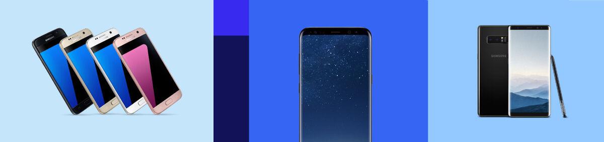 Móviles libres de Samsung