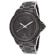 Toy Watch Men's Black Stainless Steel Spider Watch K13B