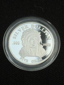 Details Zu 5 Gramm 999 Silber Münze Silver Bullion Indian Head American Buffalo Rarität