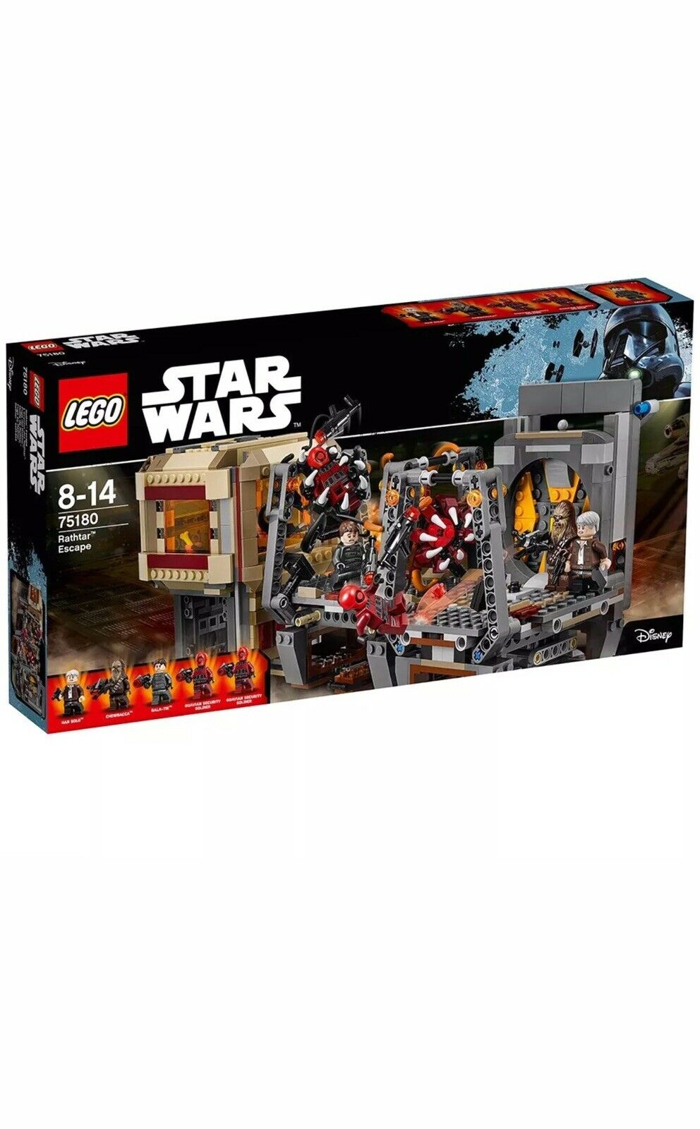 LEGO Star Wars 75180   Rathtar Escape - Brand New