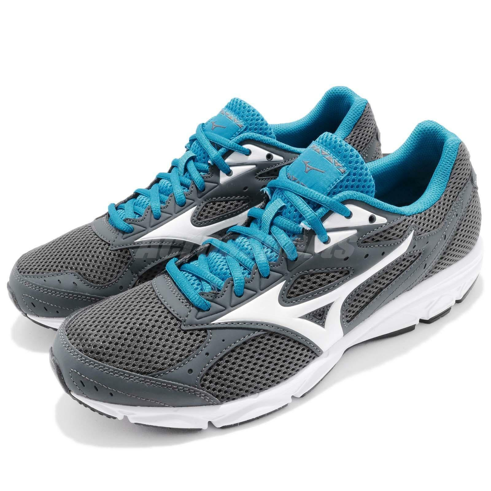 Mizuno Spark 3 3 3 III grigio bianca blu Uomo Running scarpe scarpe da ginnastica K1GA1803-01 12f9d5