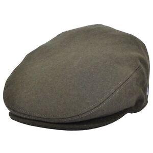 Image is loading Olive-Wool-felt-Flat-Cap-Gatsby-Cap 609ddc1d216
