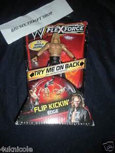 WWE FlexForce Flip Kickin' Edge Action Figure Mattel Authentic