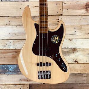 Sire Marcus Miller V5 Alder 4-String Bass, Natural w/ Gigbag