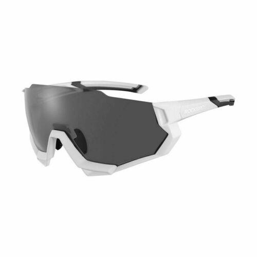 ROCKBROS Radbrille Polarisierte Sonnebrille Halbrandbrille Wechselobjektive Neu