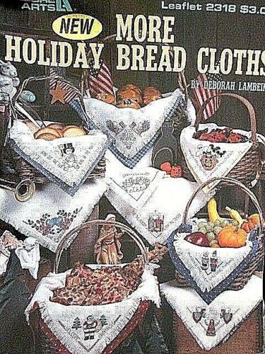 Leisure Arts Bread Cloths Cross Stitch Leaflet-Your Choice
