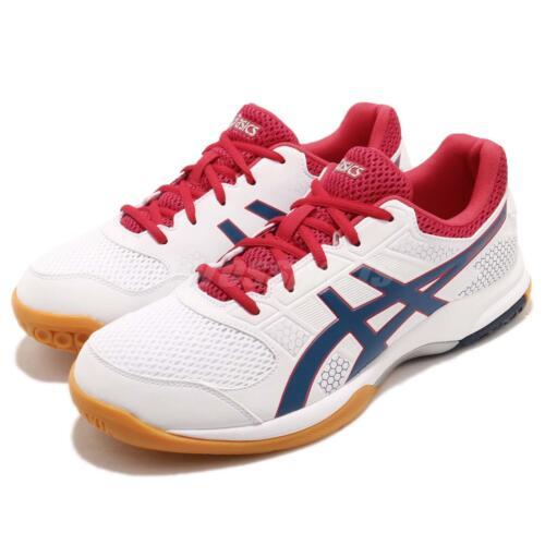 Ocean rocket Deep Gel B706y Red 100 Shoes Asics Volleyball Men Badminton White 8 5dRYw6xX