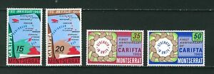 Montserrat-1969-1st-Anniversary-of-CARIFTA-full-set-of-stamps-MNH-Sg-223-226