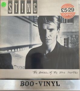 STING-Dream-Of-The-Blue-Turtles-A-amp-M-Lyric-Insert-amp-Inner-UK-VINYL-LP-EX