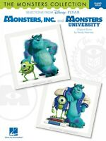 The Monsters Collection Sheet Music Selections From Disney Pixar's Mon 000122213