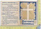 Azione Cattolica Italiana - Gioventù Femminile di Tempio - 1936