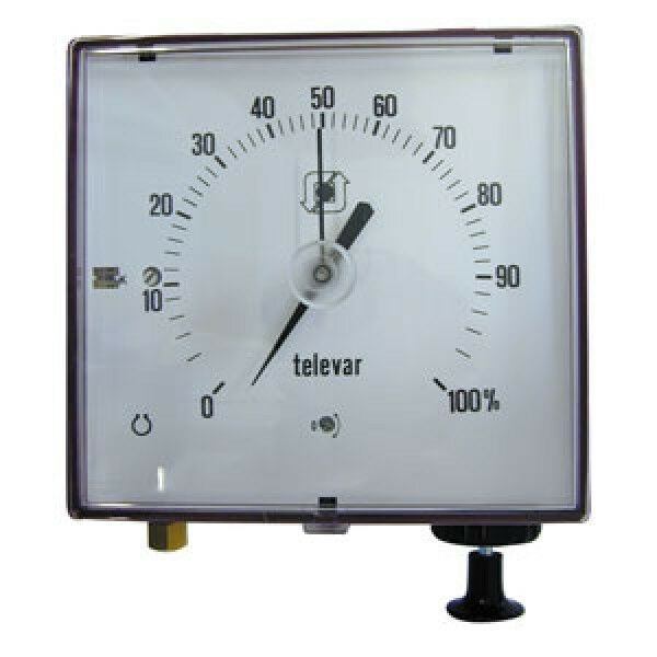 Remote tank contents level gauge -Cylindrical tank 5m