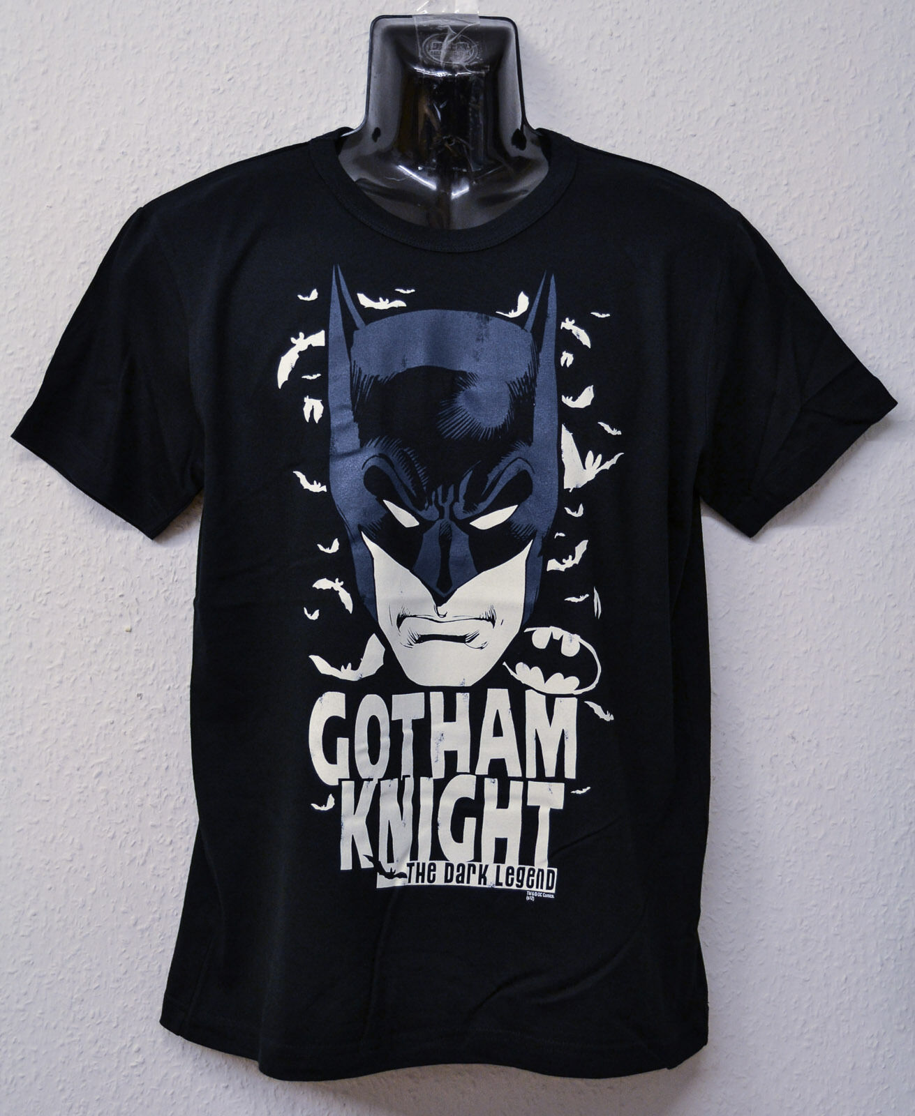 GOTHAM NIGHT BATMAN THE DARK LEGEND JOKER CHRISTIAN BALE T-SHIRT SIZE S
