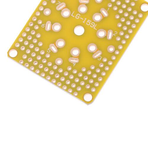 Universal Prototyp PCB für 8Pin 7pin//9pin Röhrenverstärker Vorverstärker Kop G3D