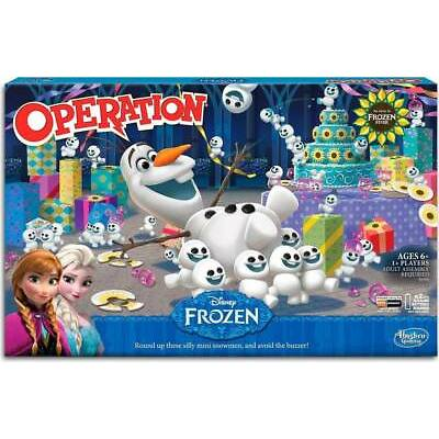 Hasbro Operation Disney Frozen Olaf Board Game