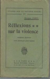 Georges-Sorel-Reflexions-sur-la-violence