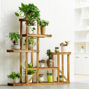 6-Tier-Anti-Corrosion-Wood-Plant-Stand-Flower-Multi-Shelf-Indoor-Restaurant-Bar