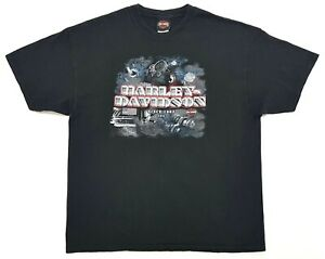 Vintage-Harley-Davidson-Since-1903-Tee-Black-Size-XL-Mens-T-Shirt-2003