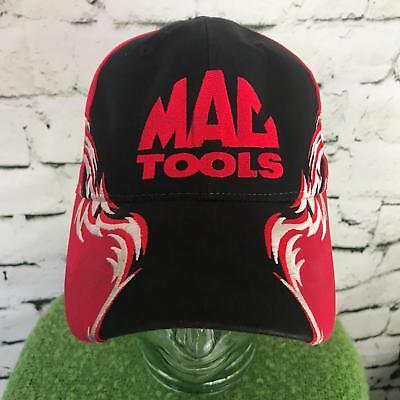 MAG Tools Mens One Sz Hat Black Red Tribal Trim Adjustable Cotton ... cd22823cdf7f