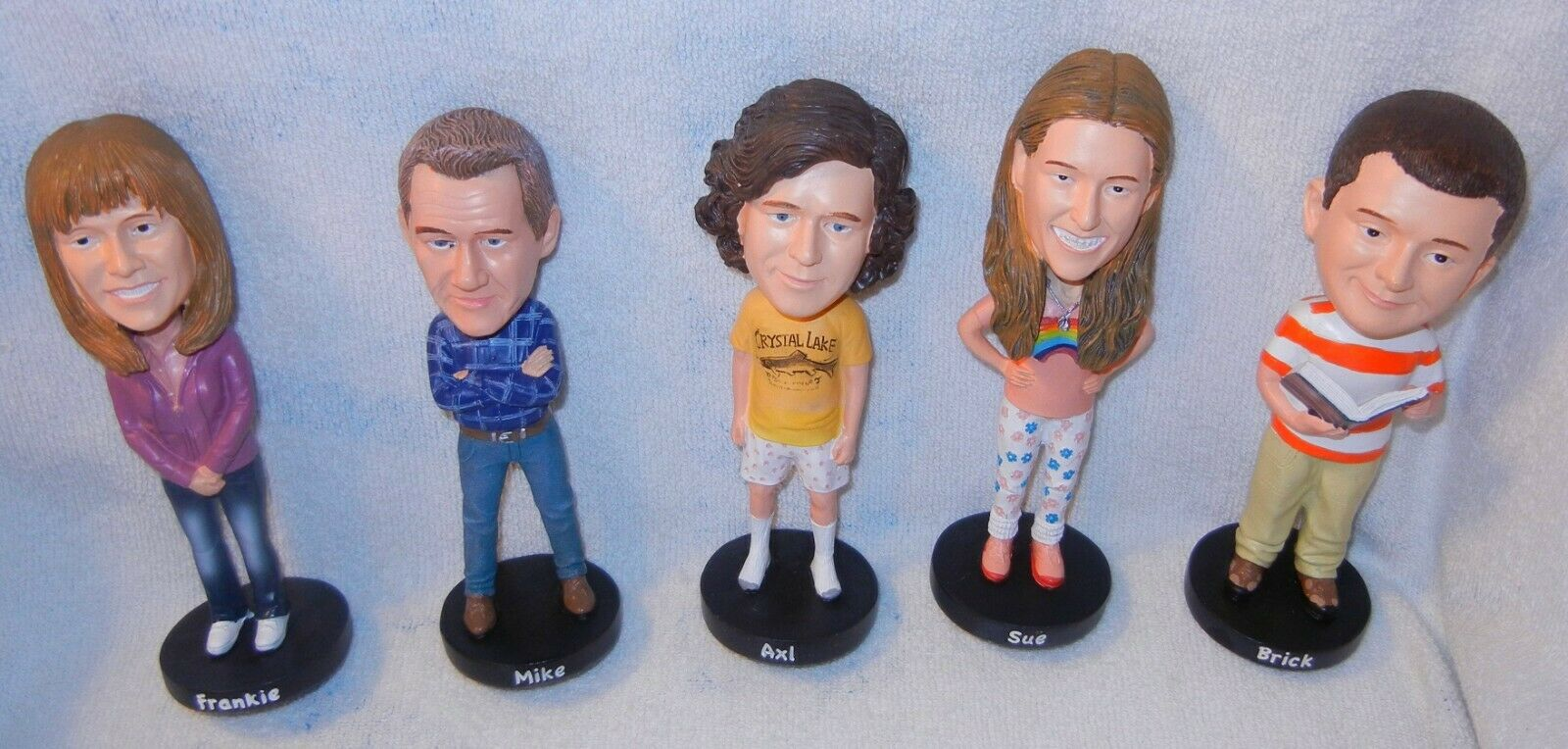 The Middle TV Series 5 Pc Character 7 Bobblehead Figurine Set