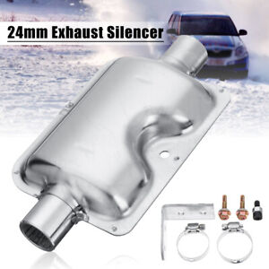 24mm-EXHAUST-SILENCER-MUFFLER-CLAMP-Stainless-Steel-For-Eberspacher-Heater