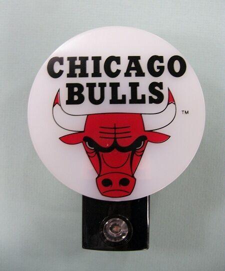 Chicago Bulls NBA Basketball AUTOMATIC Night Light (Super Buy)