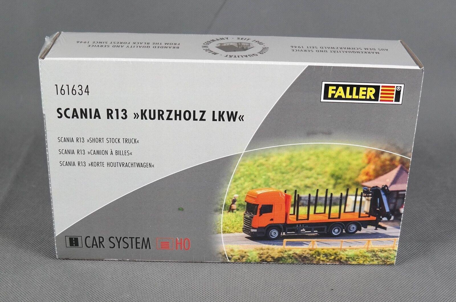 Faller 161634 [h0, carsystem] scania r 13 kurzholz lkw (angeben) - für