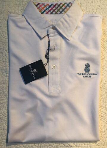 de witte Ritz Nwt polo Napels heren shirt Bugatchi carlton exBdCo