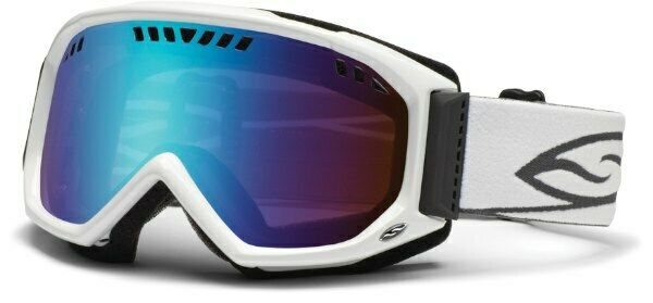 Smith Ski Goggles Scope White Sensor Mirror New