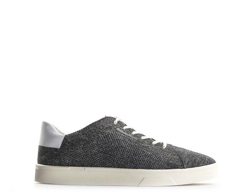 Schuhe CALVIN KLEIN Damenschuhe GRIGIO/BIANCO Tessuto E2988-GWH