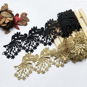 Or Costume Craft bordure en dentelle de mariée robe de soirée broderie guipure Ruban