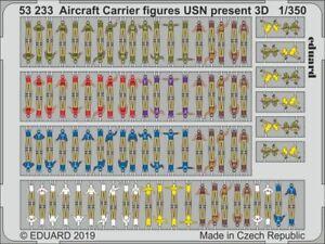 Eduard-PE-53233-1-350-Aircraft-Carrier-figures-USN-present-day-3D
